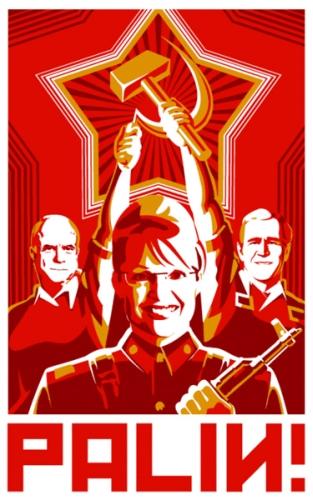 Губернатор Аляски Сара Пэйлин (Sarah Palin) по прозвищу Барракуда