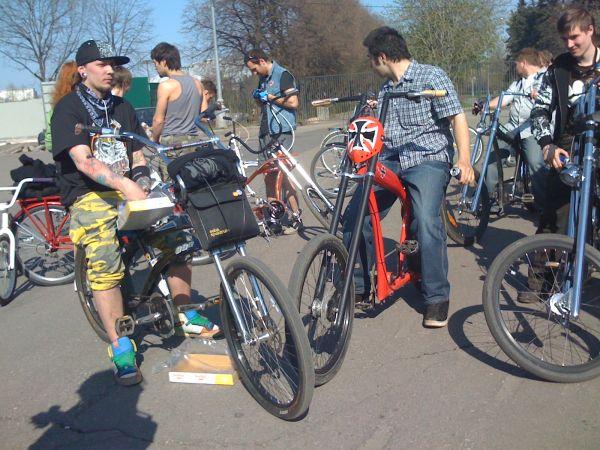 Открытие велосезона 09